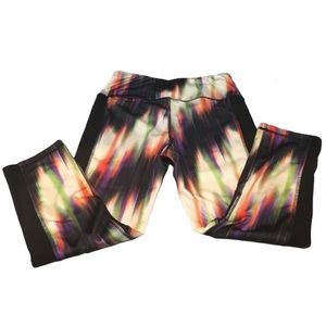 RBX Athletic Capri Pants, Multicolor, Size Medium